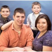 Brian and Lynette Smith – Sons, Richard, 10, and Calen, 4
